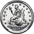 Patterns, 1871 5C Standard Silver Five Cent, Judd-1067, Pollock-1202, R.8, PR65+ Cameo PCGS. CAC....