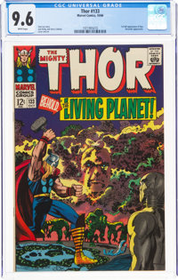 Thor #133 (Marvel, 1966) CGC NM+ 9.6 White pages