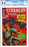 Silver Age (1956-1969):Science Fiction, Strange Tales #146 (Marvel, 1966) CGC NM- 9.2 Off-white to white pages....