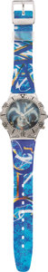 Memorabilia:Trading Cards, Magic the Gathering Limited Edition Jester's Cap Quartz Watch. ...