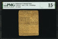 Colonial Notes:Delaware, Delaware June 1, 1759 20s PMG Choice Fine 15 Net.. ...