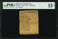 Colonial Notes:Delaware, Delaware May 1, 1758 20s PMG Choice Fine 15 Net.. ...