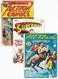 Golden Age (1938-1955):Superhero, Golden Age Superhero Comics Group of 4 (Various Publishers, 1940s).... (Total: 4 Comic Books)