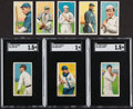 Baseball Cards:Lots, 1909-11 T206 White Border Collection (8). ...