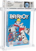 Video Games:Nintendo, Paperboy - Wata 9.4 A Sealed [Oval SOQ TM, Later Production] (Atwood Collection), NES Mindscape 1988 USA....
