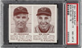 Baseball Cards:Singles (1940-1949), 1941 Double Play Bob Feller #77/78 PSA NM-MT 8 - Only One Higher. ...