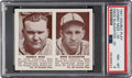 Baseball Cards:Singles (1940-1949), 1941 Double Play Mize/Slaughter #39/40 PSA NM-MT 8 - Only One Higher. ...