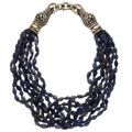 Estate Jewelry:Necklaces, Iolite, Sterling Silver Necklace, Kieselstein-Cord. ...