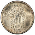 1917 25C Type One MS66+ Full Head PCGS. CAC. PCGS Population: (594/89 and 59/13+). NGC Census: (344/64 and 6/5+). CDN: $...