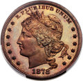 Patterns, 1878 $1 Judd-1562, Pollock-1753, High R.6, PR67 Red and Brown PCGS. CAC....