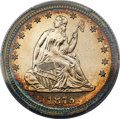 Proof Seated Quarters, 1879 25C PR66 Cameo PCGS. CAC. Briggs 2-B. Ex: Sim...