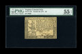 Colonial Notes:Virginia, Virginia October 20, 1777 $6 PMG About Uncirculated 55 EPQ....