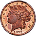 Patterns, 1878 $5 Five Dollar, Judd-1573, Pollock-1762, Low R.7, PR66+ Red and Brown PCGS. CAC....