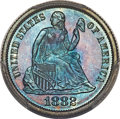 Proof Seated Dimes, 1882 10C F-101, R.3, PR69 PCGS. CAC....
