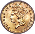 Gold Dollars, 1888 G$1 MS68 PCGS....
