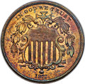 Patterns, 1872 5C Shield Nickel, Judd-1189, Pollock-1329, High R.7, PR66+ Red and Brown PCGS....