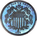 Patterns, 1866 5C Shield Nickel, Judd-509, Pollock-592, High R.6, PR66 Brown PCGS....