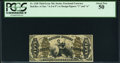 Fractional Currency:Third Issue, Fr. 1348 50¢ Third Issue Justice PCGS About New 50.. ...