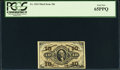 Fractional Currency:Third Issue, Fr. 1254 10¢ Third Issue PCGS Gem New 65PPQ.. ...