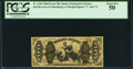 Fractional Currency:Third Issue, Fr. 1344 50¢ Third Issue Justice PCGS About New 50.. ...