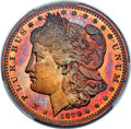 Patterns, 1879 50C Morgan Half Dollar, Judd-1600, Pollock-1795, Low R.7, PR67+ Red and Brown PCGS. CAC....