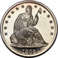 Patterns, 1863 50C Half Dollar, Judd-342, Pollock-414, Low R.7, PR67 Cameo PCGS. CAC...