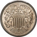 Patterns, 1866 2C Two Cent, Judd-459, Pollock-533, High R.7, MS66+ P...