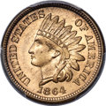 1864 1C No L Indian Cent, Judd-354, Pollock-425, Snow-PT1a-1, R.8, MS67 PCGS. CAC....(PCGS# 535220)