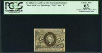 Fr. 1286a 25¢ Second Issue Slate Back PCGS Apparent Choice New 63