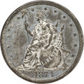 Patterns, 1873 T$1 Trade Dollar, Judd-1314, Pollock-1457, R.8, PR63+ PCGS. CAC....