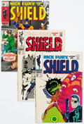 Silver Age (1956-1969):Superhero, Nick Fury, Agent of S.H.I.E.L.D. Group of 10 (Marvel, 1968-69) Condition: Average VF-.... (Total: 10 Comic Books)