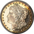 Proof Morgan Dollars, 1895 $1 PR68 Cameo PCGS. CAC....