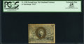 Fractional Currency:Second Issue, Fr. 1248 10¢ Second Issue PCGS Apparent Extremely Fine 45.. ...