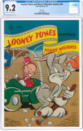 Golden Age (1938-1955):Cartoon Character, Looney Tunes and Merrie Melodies Comics #65 File Copy (Dell, 1947) CGC NM- 9.2 Cream to off-white pages....
