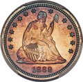 Proof Seated Quarters, This item is currently being reviewed by our catalogers and photographers. A written description will be available along with high resolution images soon.