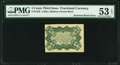 Fractional Currency:Third Issue, Fr. 1238 5¢ Third Issue Inverted Back PMG About Uncirculated 53 EPQ.. ...