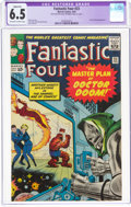 Silver Age (1956-1969):Superhero, Fantastic Four #23 (Marvel, 1964) CGC Apparent FN+ 6.5 Off-white to white pages....