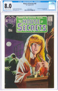 Bronze Age (1970-1979):Horror, House of Secrets #92 (DC, 1971) CGC VF 8.0 Off-white to white pages....