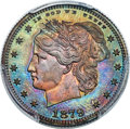 1879 25C Washlady Quarter Dollar, Judd-1591, Pollock-1784, R.6, PR66+ Red and Brown PCGS....(PCGS# 71968)