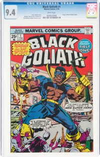 Black Goliath #1 (Marvel, 1976) CGC NM 9.4 White pages