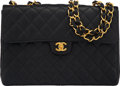 """Luxury Accessories:Bags, Chanel Black Quilted Caviar Leather Maxi Flap Bag with Gold Hardware. Condition: 3. 12"""" Width x 8.5"""" Height x 3.5"""" Dep..."""