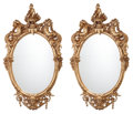 Furniture, A Pair of Napoleon III-Style Gilt Bronze Figural Mirror Frames. 86 x 49 x 8 inches (218.4 x 124.5 x 20.3 cm). ... (Total: 2 Items)