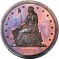 1870 $1 Dollar, Judd-1005, Pollock-1137, Low R.6, PR67+ Red and Brown PCGS....(PCGS# 71252)