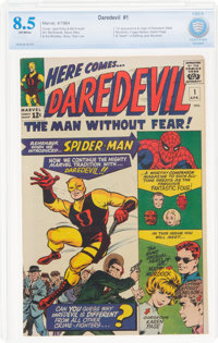 Daredevil #1 (Marvel, 1964) CBCS VF+ 8.5 Off-white pages