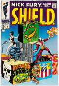 Silver Age (1956-1969):Superhero, Nick Fury, Agent of S.H.I.E.L.D. #1 (Marvel, 1968) Condition: NM-....