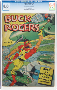 Buck Rogers #4 (Eastern Color, 1942) CGC VG 4.0 Cream to off-white pages