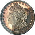 Proof Morgan Dollars, 1887 $1 PR67 Cameo PCGS. CAC. Ex: Simpson. Nearly ...