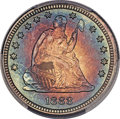 Proof Seated Quarters, 1888 25C PR67+ PCGS. Briggs 2-B. Ex: Simpson. All ...