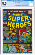 Silver Age (1956-1969):Superhero, Marvel Super Heroes #1 (Marvel, 1966) CGC VF+ 8.5 Off-white pages....