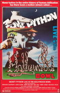"""Movie Posters:Comedy, Monty Python Live at the Hollywood Bowl (Columbia, 1982). Rolled, Fine. Trimmed One Sheet (25"""" X 39""""). Comedy.. ..."""